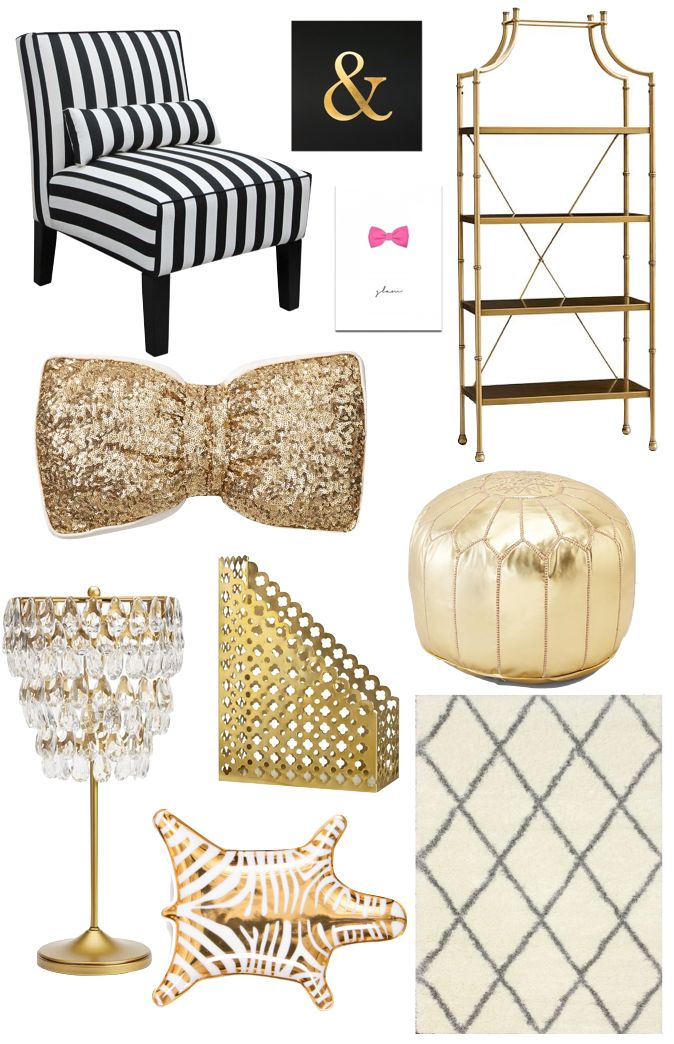 Home office decor // Click the following link to see details and photos: http://www.stylishpetite.com/2015/01/home-office-decor.html