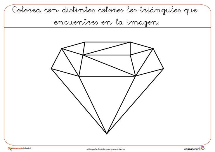 Figuras geométricas para colorear