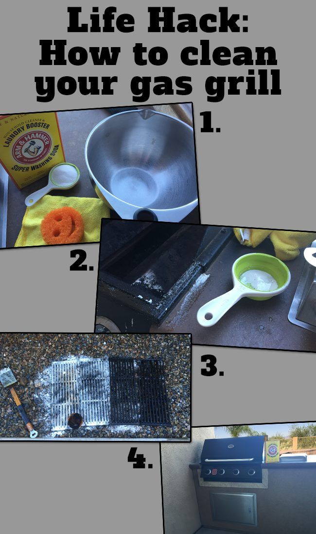 Life Hack: How to clean your gas grill grates