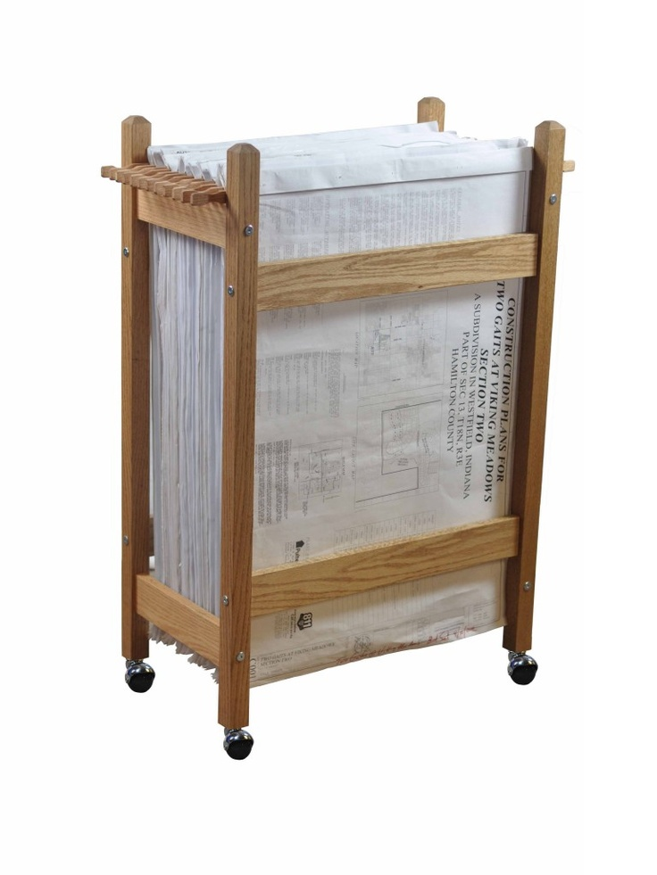 13 best blueprint storage ideas images on pinterest organization the plan rack is a high capacity blueprint storage rack used in the design and construction industry malvernweather Image collections