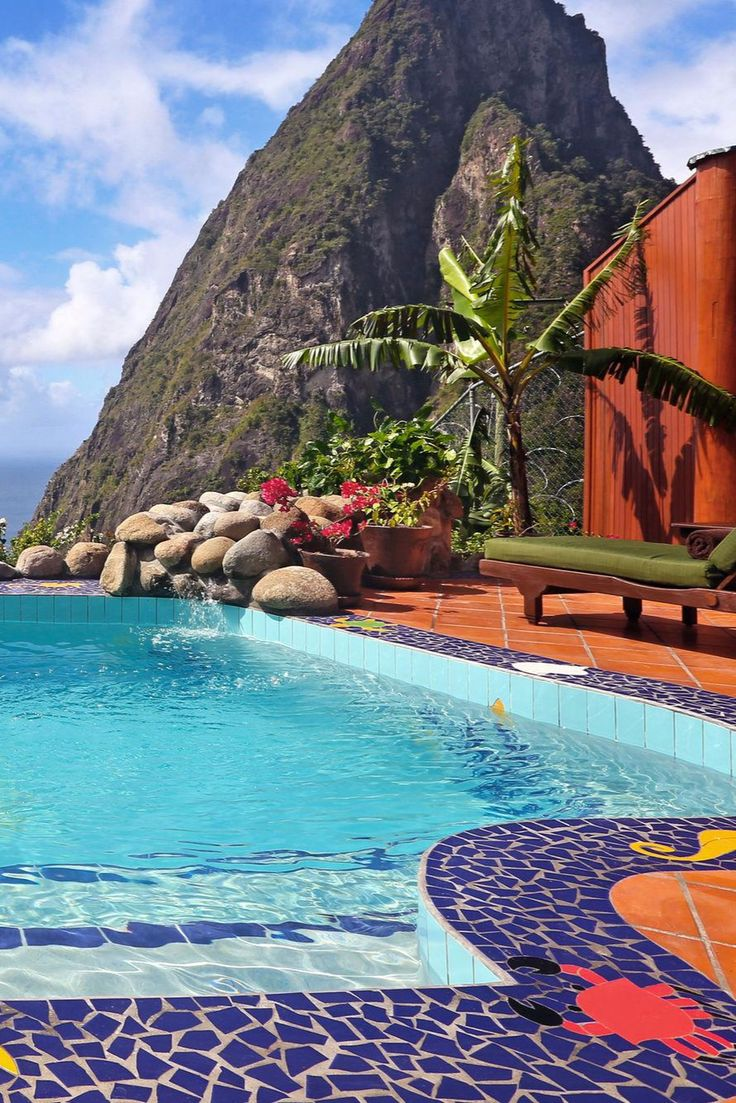 The 1,400-square-foot Paradise Ridge Suites have an open air bedroom and heated plunge pool. Ladera Resort (St. Lucia) - Jetsetter