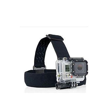 GoPro+Accessoires+Bandjes+Voor+Gopro+Hero+2+/+Gopro+Hero+3+/+Gopro+Hero+3++/+Allemaal+/+Gopro+Hero+4+Geschikt+Nylon+zwart+–+EUR+€+3.91