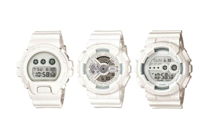 Casio Is Dropping a New Range of All-White G-Shocks