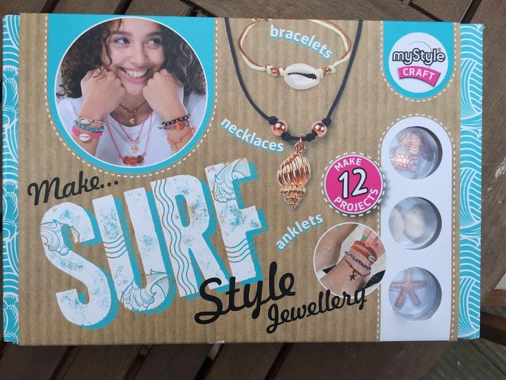 We were sent Interplays mySyle Surf Style Jewellery set for review.  The kit allows you to design and make surf style bracelets and  necklaces,it is a really lovely craft kit from Interplay. The set is  nicely put together with the included parts that all feel really good  quality.