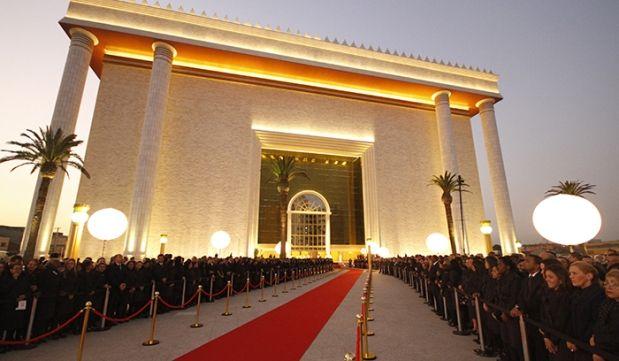 Veja como foi a inauguração oficial do Templo de Salomão - Universal.org