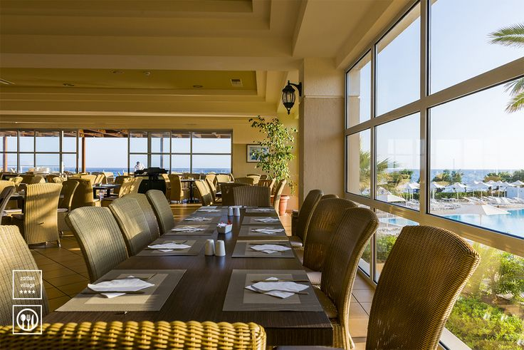 Main Restaurant Ariadne #vitahotels #greece #zorbasvillage #crete