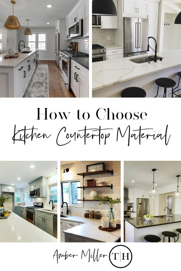 Countertop Material For Your Kitchen Reno Kitchen Remodel