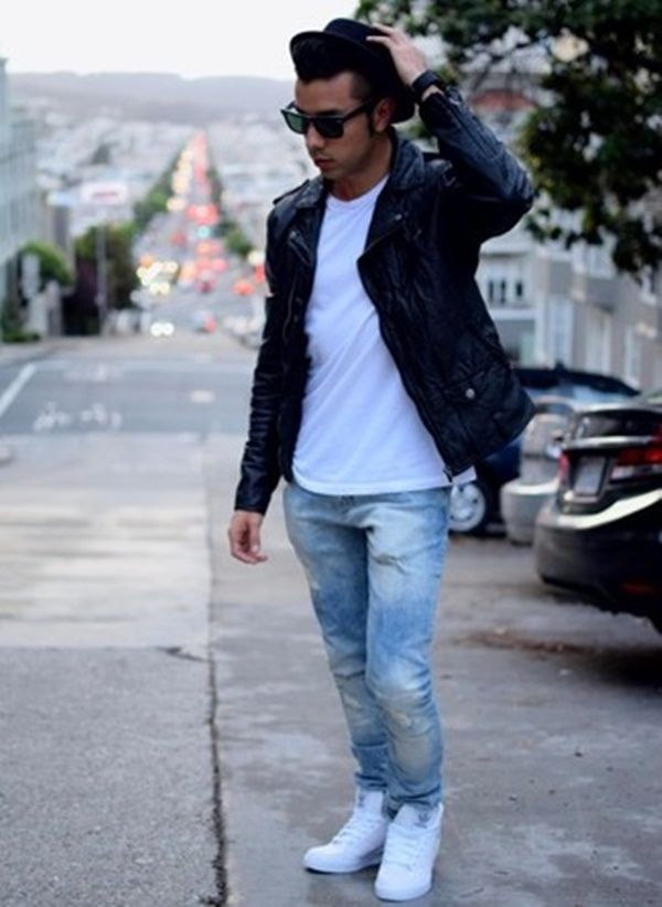 40 Outstanding Mens Leather Biker Jackets