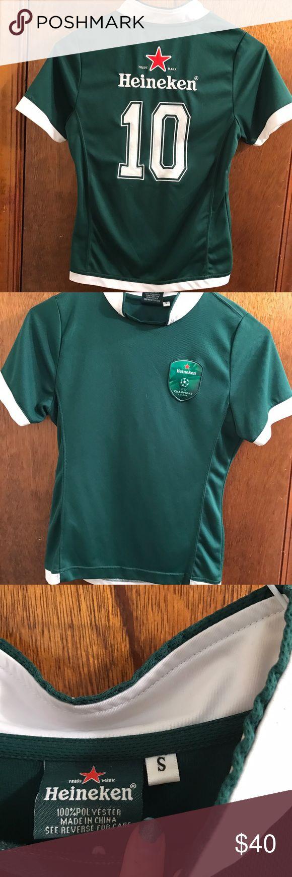 Heineken Green Polo Shirt Size S Small Rare! heineken Tops