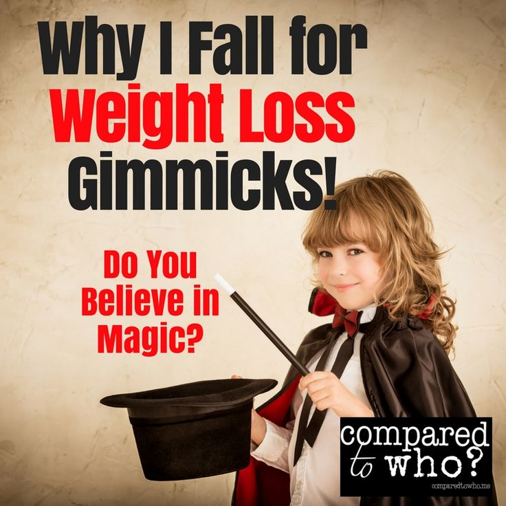 Do You Believe in Magic? Why I Fall for Weight Loss Gimmicks