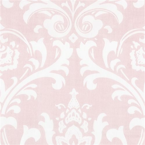 Can't go wrong with pink or Damask  Pink Osborne Damask Fabric by the Yard | Carousel Designs