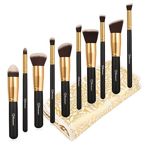 Soobest ® Professional Kabuki Makeup Brushes Set With Carry Bag ,Included Kabuki Foundation Blending Blush Eyeliner Face Powder Brush Makeup Brush Kit ,10PCS/Set Soobest http://www.amazon.com/dp/B00V5YFCXK/ref=cm_sw_r_pi_dp_90yAwb1R9QAEE