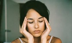 """Discovery Health """"How to find pressure points to cure headaches"""". This really does work! I always apply pressure to the front and back side of my head, and drink water, before resorting to medication."""