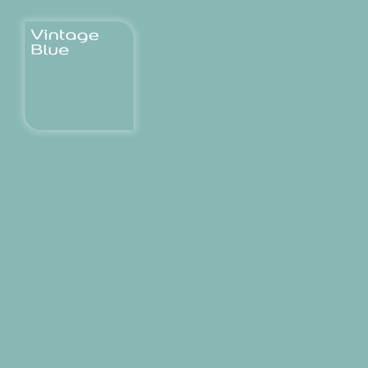 Flexa Creations kleur: Vintage Blue. Klik op de foto om een Flexa Kleurstaal in deze kleur te bestellen. Vooraf de kleur op de muur in je kamer zien geeft vertrouwen.