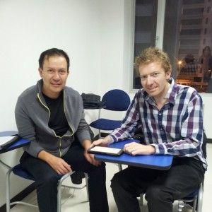 Patricio tomó nuestra TOEFL Prep con el Prof. Scott Donaldson en el horario para profesionales de 6-8PM. Él trabaja muy cerca de nuestra sucursal Quito, labora en el Ministerio de Salud y su carrera se enfoca en Derechos Humanos.