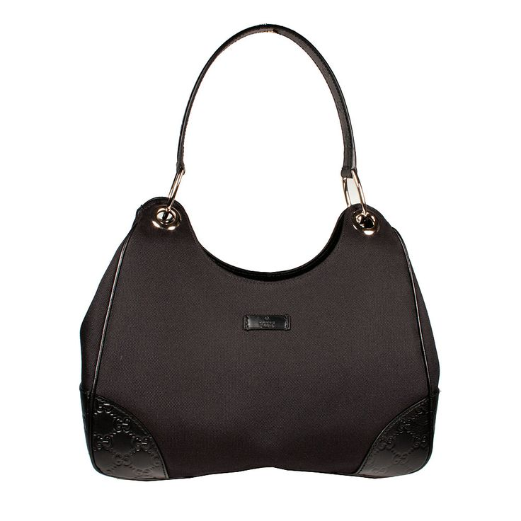 gucci handbags | Gucci Womens Handbag Colbert Shoulder Bag Black Canvas Leather (GG1701 ...