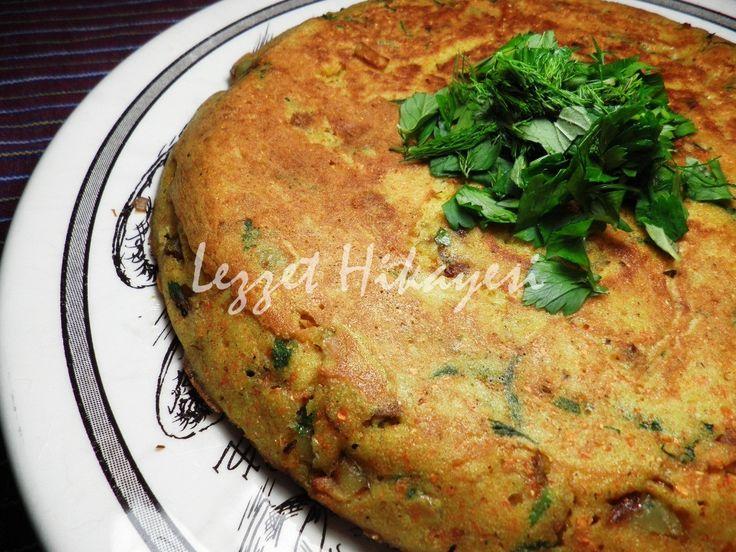 Mısır Unlu Sebzeli Krep krep sebzeli hamur işleri mısır unlu tarifler hamur işleri