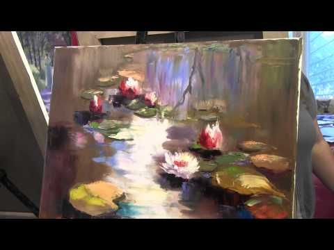 A Simple Tree - Watercolour Demonstration by PETER WOOLLEY - YouTube