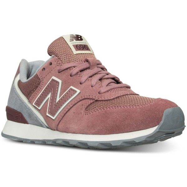 New Balance Women's 696 Winter Seaside Casual Sneakers from Finish... ($80) ❤ liked on Polyvore featuring shoes, sneakers, new balance, new balance footwear, new balance shoes, new balance sneakers and vintage style shoes