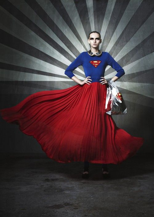The superman dress at Gallery Muveil Japan. I am an absolute fan!