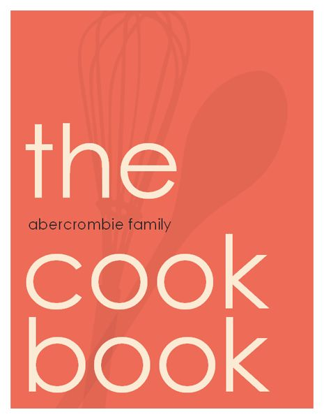 Cookbook Cover Template Free Download : Best images about family cookbook project on pinterest