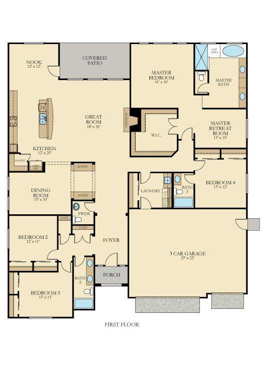 Excelsior   Plan 6004 New Home Plan In Quail Lake: Pinnacle Series By Lennar