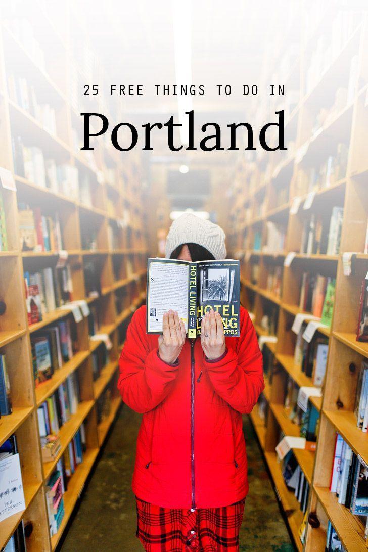 25 Free Things to Do in Portland Oregon // http://localadventurer.com
