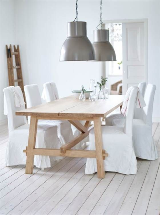 25 best ideas about ikea dining table on pinterest diy table minimalist dining room - Oak dining chairs ikea ...
