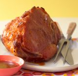 How to Glaze a Ham- recipes for Brown sugar and orange glaze, Brown sugar and mustard glaze, Pineapple mustard glaze.