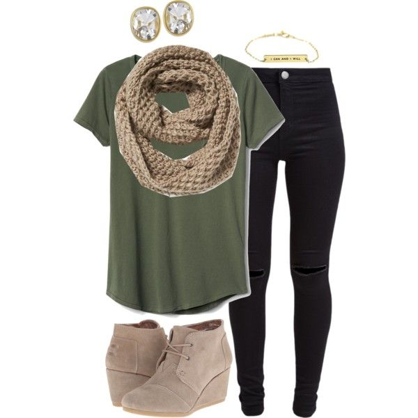Untitled #769 by lsteckbauer on Polyvore featuring Gap, New Look, TOMS, Kenneth Jay Lane and Old Navy