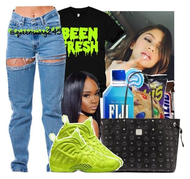 """""""Been Fresh"""" by queenswag245 ❤ liked on Polyvore featuring NIKE"""