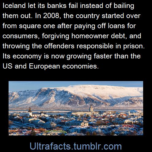 In 2008, faced with the possibility of financial failure, Iceland had to think on its feet. Instead of bailing out banks USA-style, the country forgave mortgage debt for the population – and...