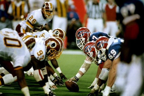 Redskins D overpowered Buffalo all game. - Super Bowl XXVI