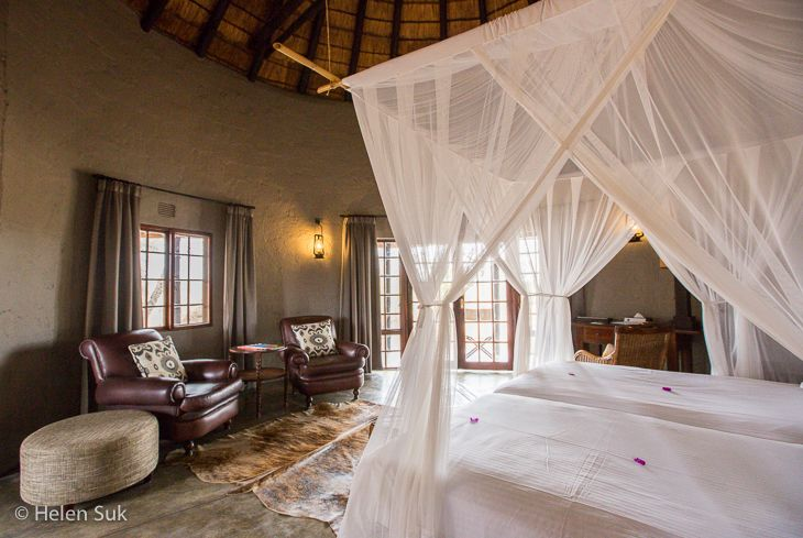Motswari Private Game Reserve in South Africa's Timbavati Nature Reserve is a four-star lodge with a five-star reputation.