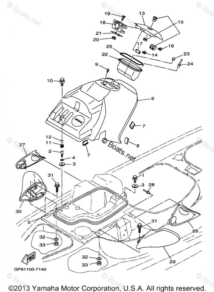 Yamaha Gp6 Engine Diagram Yamaha Gp6 Engine Diagram