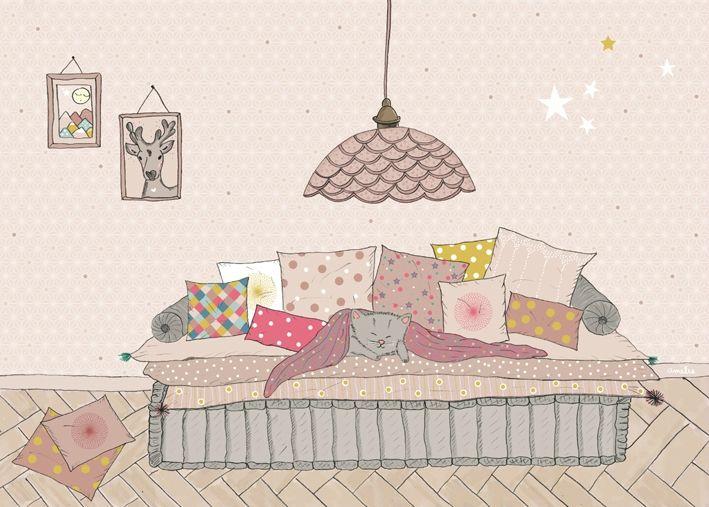 Amelie Biggs_L'Affiche Moderne_Jardin enchanté - Photo de L'Affiche Moderne - amélie biggs