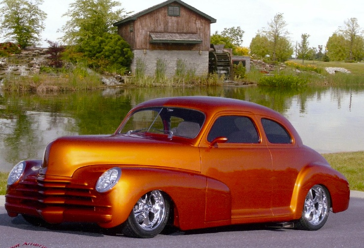 13 best images about 1948 Chevy Coupe Customs on Pinterest