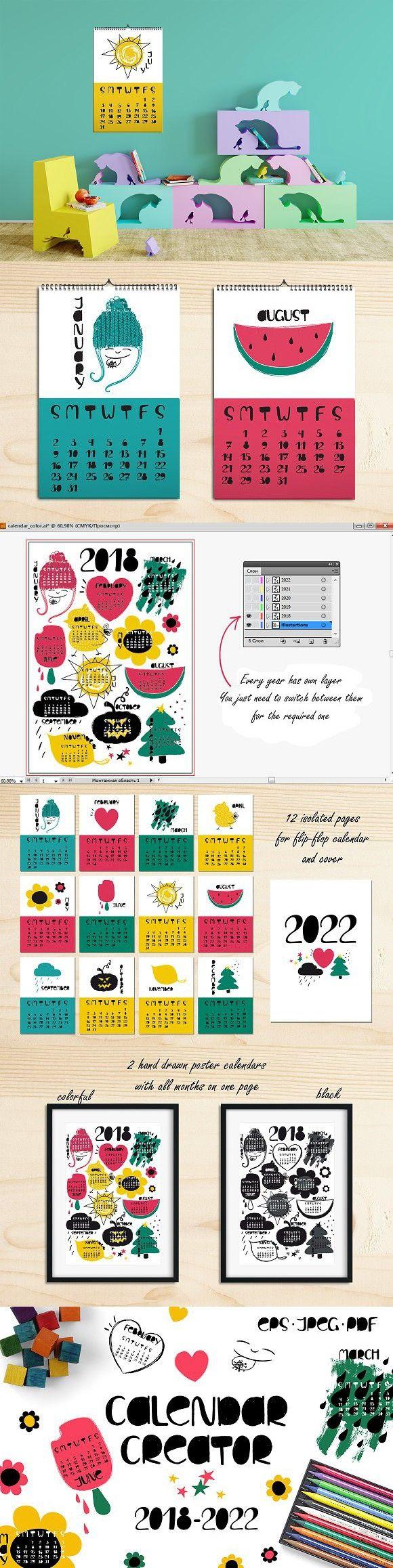 Calendar Creator 2022.Calendar Creator Calendar Creator Coloring Calendar Calendar Design