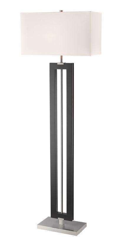 The 25 best tall floor lamps ideas on pinterest floor lamp z lite fl121 serenity single light 64 tall floor lamp with white fabric shade aloadofball Gallery