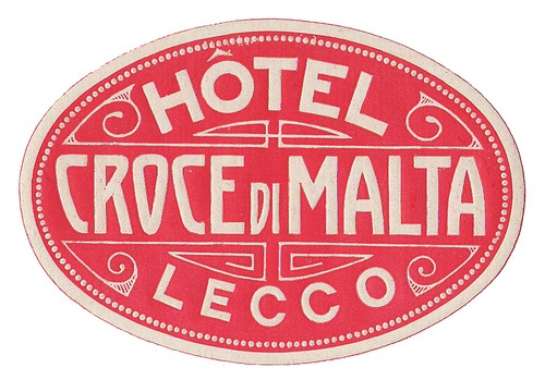 Lecco - Hotel Croce di Malta by Luggage Labels | everything fits. it just...fits.