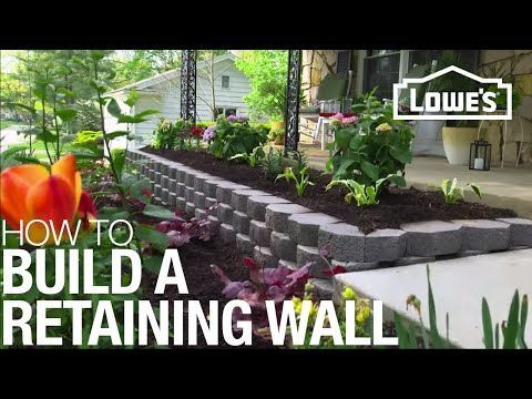 Small Garden Wall Ideas retaining wall design ideas get inspired by photos of retaining How The Build A Retaining Wall Hardest Part Would Be Leveling The First Row