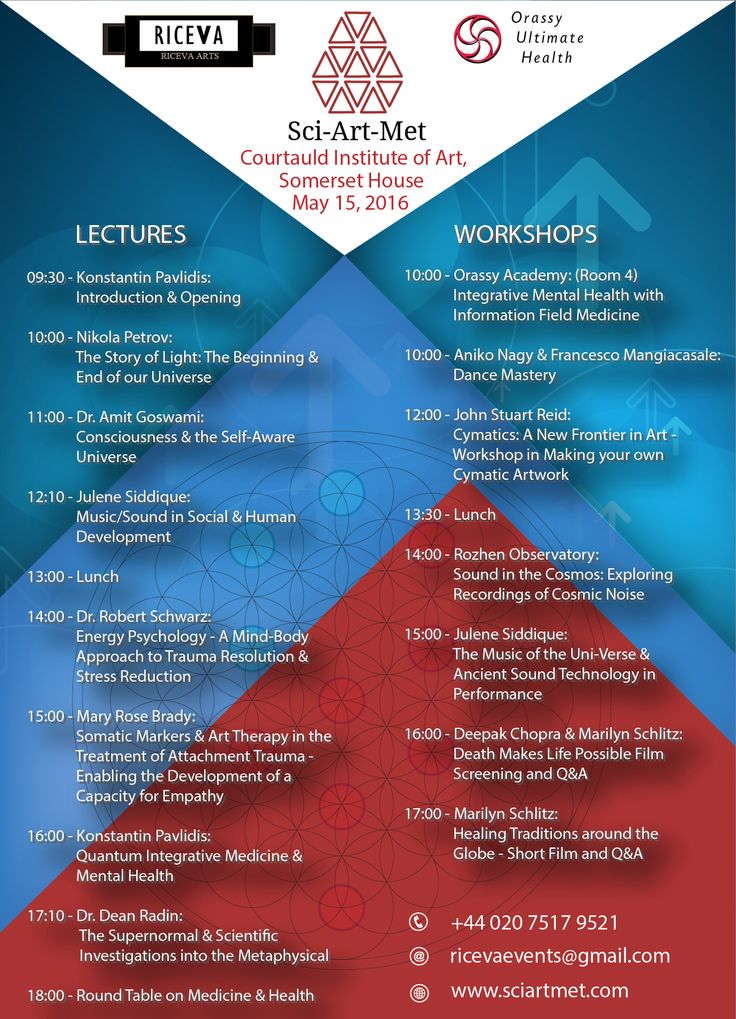 International Symposium for Science, Art & Metaphysics: May 15th, 2016