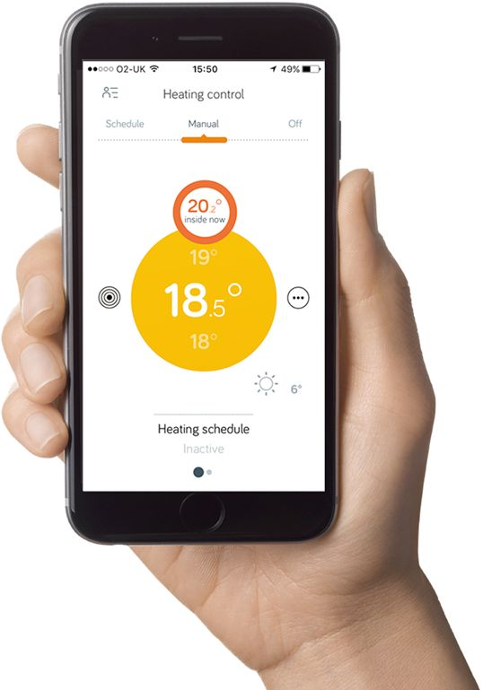 Hive Heating & Water Control App