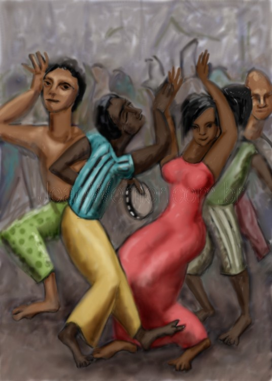 Carnaval - Joao Werner, Brazilian artist.