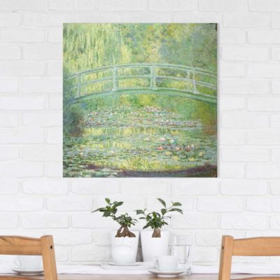 Leinwandbild Claude Monet - Kunstdruck Seerosenteich und japanische Brücke - Impressionismus 70x70-38.00-LB-1-1 Jetzt bestellen unter: https://moebel.ladendirekt.de/dekoration/bilder-und-rahmen/poster/?uid=214b07fe-40fc-5209-bf8a-07f20e501408&utm_source=pinterest&utm_medium=pin&utm_campaign=boards #heim #bilder #rahmen #poster #dekoration