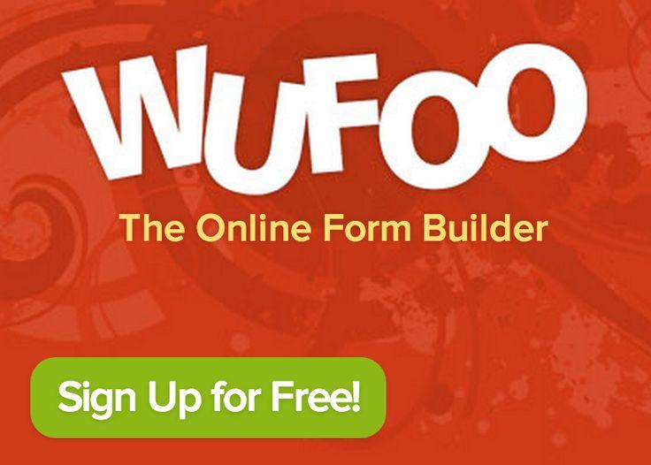 Wufoo - online form builder