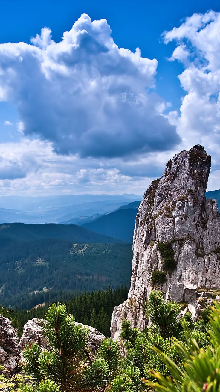 Landscape 4K Ultra HD Wallpaper  | Mountain landscape clouds 4K Ultra HD wallpaper | 4k-Wallpaper.Net