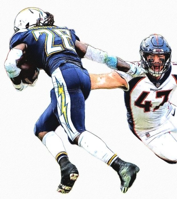 Los Angeles Chargers Rb Melvin Gordon Iii Los Angeles Chargers Rb Melvin Gordon Iii Angeles Chargers Los Angeles Chargers Los Angeles Football Illustration