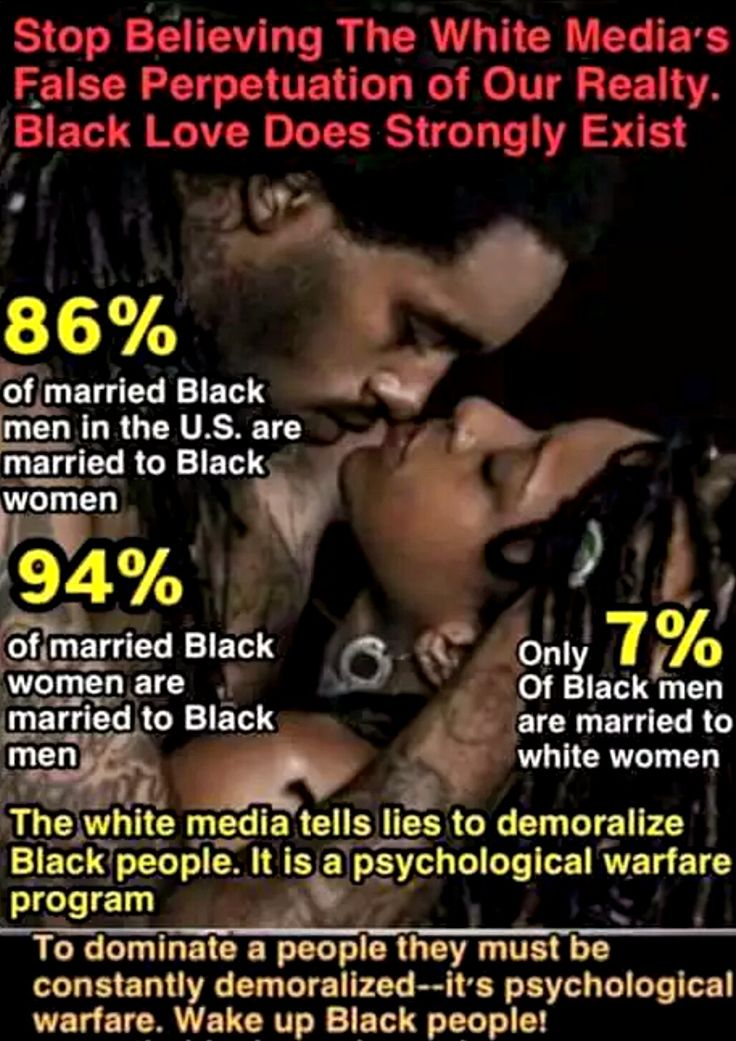 black man and white women Description interracial marriages between african americans and caucasian americans in the united states are the least common of all interracial marriages, with marriages between black women and white men being the less frequent of the two combinations.