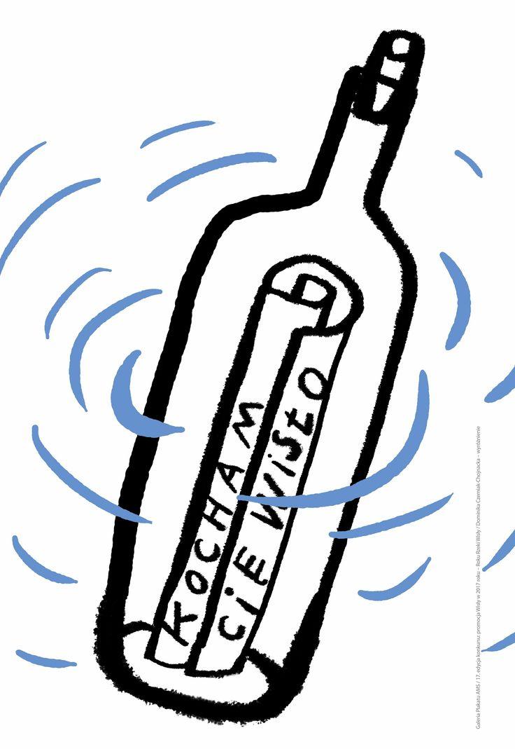 Plakat Dominiki Czerniak-Chojnackiej - wymiary: 66,6 x 100 cm - cena: 15 zł / A poster by Dominika Czerniak-Chojnacka - size: 66,6 x 100 cm - price: 15 zł